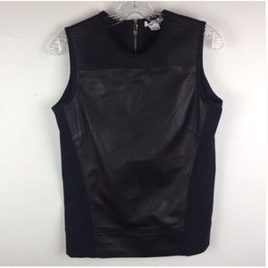HELMUT LANGE Leather Tank Top
